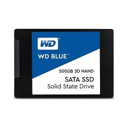 WESTERN DIGITAL hard disk interno 2.5 BLUE 500GB SSD 2.5 SATA 3DNAND